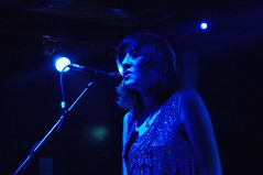 Naomi in blue