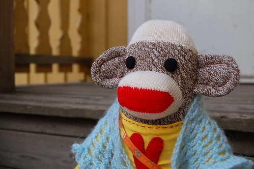 My friend the sockmonkey