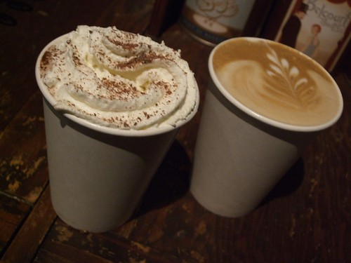 Hot Chocolate & Latte @ Fido