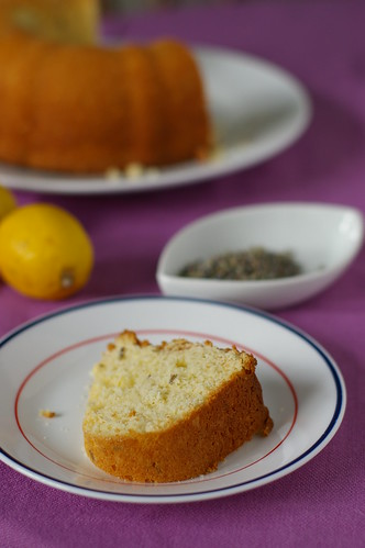 Lemon Lavender Coffee Cake
