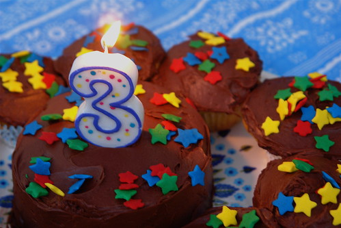 Cupcakes with BIG Sprinkles