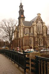 Westerkerk (Western Church) in Jordaan (kmkuehler) Tags: holland netherlands amsterdam jordaan