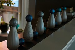 had to do something with the vases