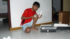 Unpacking MacBook Pro