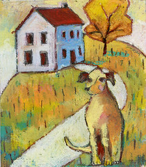 dog In Yard