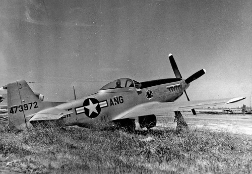 Warbird picture - North American P-51 Mustang in Fresno in 1960