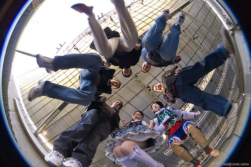 Jumping Over the Fisheye