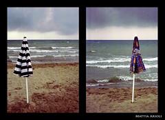 beacH Party (Mattia Arioli) Tags: party beach umbrella tuscany toscana festa spiaggia ombrellone