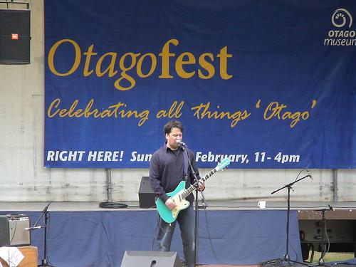 Singer/guitarist at OtagoFest
