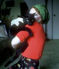 Michelle & Pet (moedonno) Tags: california cat bill michelle rizzo kail
