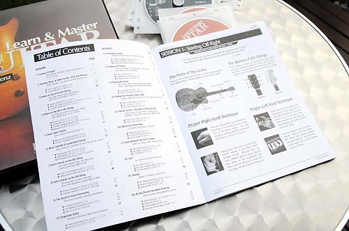Learn and Master Guitar lesson book