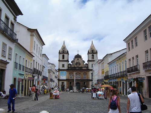Salvador de Bahia - Pelourinho por corvojoe.