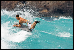 Re-Pete (konaboy) Tags: hawaii surf surfer surfing pete bigisland kona bodyboarding manini 22756