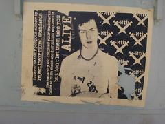 vicious anti (florajasmine) Tags: streetart art austin graffiti wheatpaste sid anti sexpistols vicious feb08 florajasmine