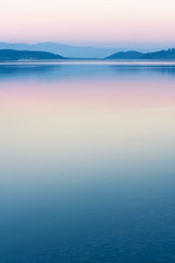 Pink Soft Lake (Serrano77  BIG Papa......) Tags: longexposure pink blue sunset italy lake colors digital canon wow landscape lago eos photo cool soft italia tramonto foto place deep 85mm fresh tuscany iridescent toscana polarized pola paesaggio mvp mugello serrano77 marcomontanari abigfave iridescente superbmasterpiece sfrevol lagodibilancino