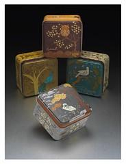 Fossil Watch Tins (handmade julz) Tags: illustration fossil graphicdesign designportfolio apparelgraphics fossilapparelgraphics