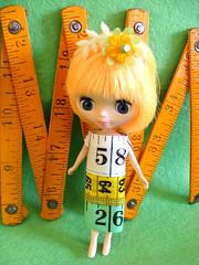 Measuring Tape Girl :-)
