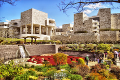 getty #15 (Kris Kros) Tags: california ca usa building robert museum architecture modern photoshop garden botanical photography la losangeles high dynamic contemporary central arts institute socal research kris getty 2008 range hdr irwin kkg cs3 3xp photomatix kros xxxxxxxx kriskros kk2k kkgallery