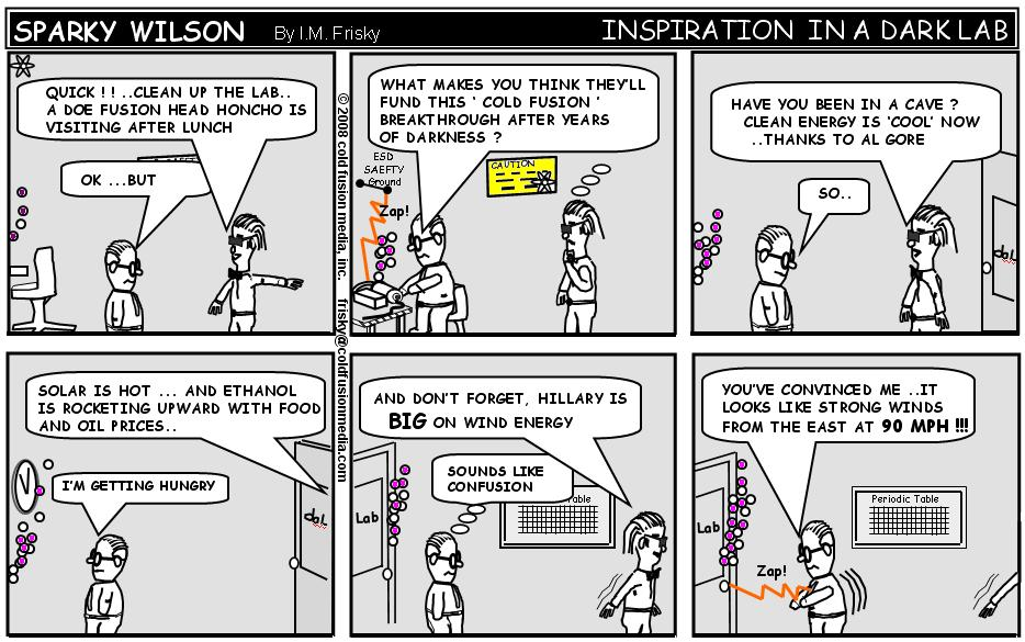 Sparky Wilson - Cold Fusion Comic
