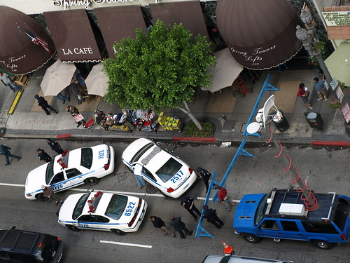 LA Cafe Held Hostage By Film Crew