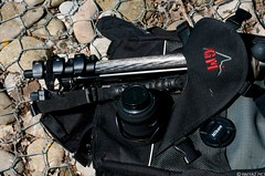 Manfrotto 190MF4 MagFiber tripod + Manfrotto 460MG Magnesium head (raffaelemariotti) Tags: head tripod backpack carbonfiber manfrotto magnesium 460mg afmicronikkor60mmf28d 190mf4 magfiber