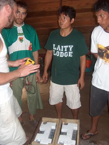 Martin, Julio & crew