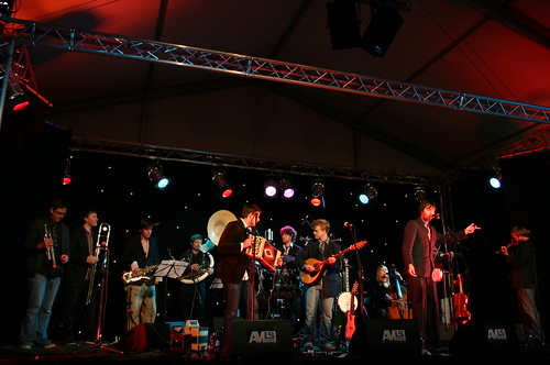 """Bellowhead • <a style=""""font-size:0.8em;"""" href=""""https://www.flickr.com/photos/26751807@N07/2511192524/"""" target=""""_blank"""">View on Flickr</a>"""