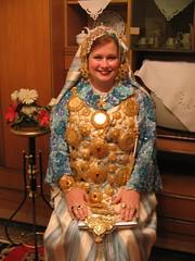 April gets to dress like a Libyan Bride (alornmage) Tags: muslim ceremony culture celebration marraige libyan arabicwedding aprilpeer historyaprilpeer