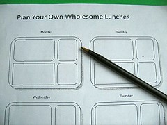 Planning worksheet for the Laptop Lunchbox