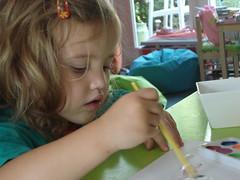Noor schildert 3 (knoorvanwijngaarden) Tags: noor spelen