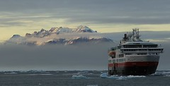 Antarctic Havn (44) (Richard Collier - Wildlife and Travel Photography) Tags: arctic greenland antartichavn landscape seascape ship clouds fram