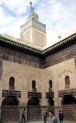 L1000615 (H Sinica) Tags: morocco 摩洛哥 fez fes 非斯 medina medersa bouinania