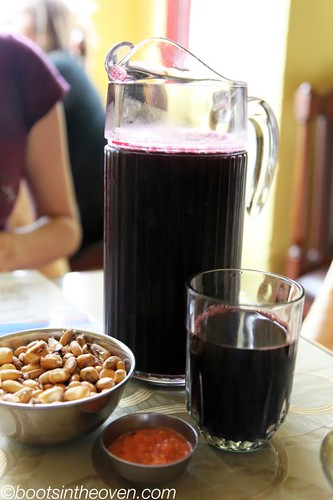 The ubiquitous chicha morada