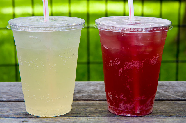 Lime and hibiscus sodas, P&H Soda Company, Madison Square Eats
