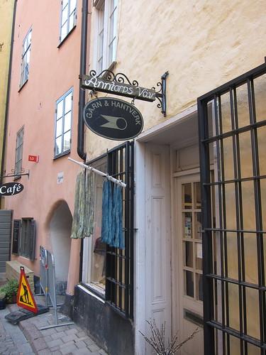 Knitting store