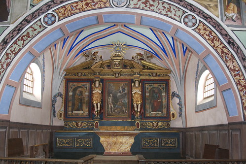 Lanslevillard, chapelle St-Sébastien © S. Perez