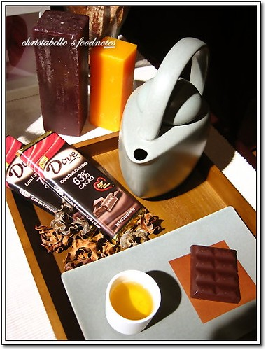 Dove巧克力學院巧克力佐茶