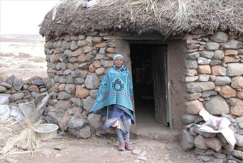 Lesothan lady