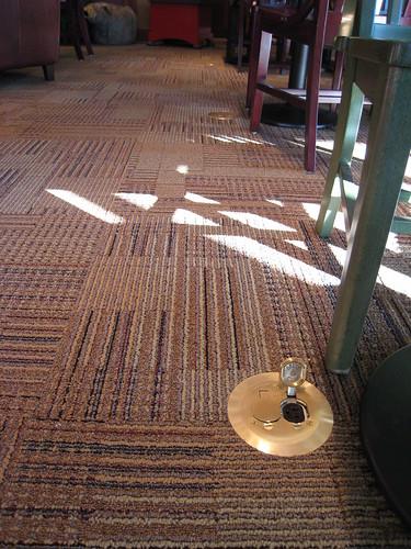 Living Room Floor Outlet - Home Improvement