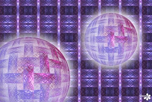Pink Bubble Weave