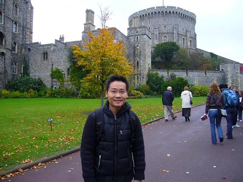Ben at Windsor Castle