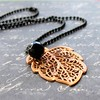 Black Magic necklace by Cassie Nylen Gray