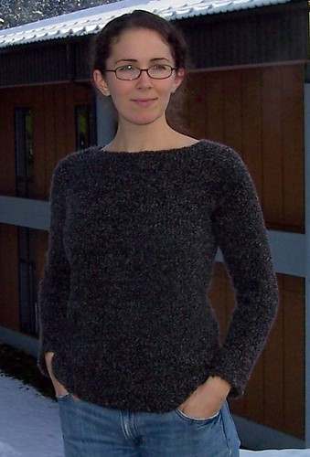 Free Knit Sweater Patterns For Beginners : Comfy Raglan Sweater   Free Pattern The Running Yarn