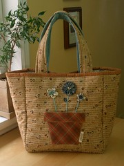 Country Patch Bag 2 - reversed par PatchworkPottery