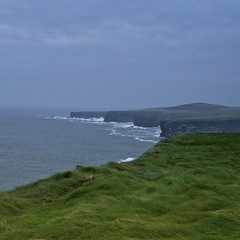 coastline (limerickdoyle) Tags: ocean ireland sea grass coast cliffs atlantic coastline countyclare iphotoedited efs1785mm canon400d