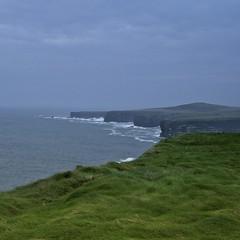 coastline (limerickdoyle) Tags: ocean ireland sea grass coast cliffs atlantic coastline countyclare iphotoedited efs1785mm canon400d