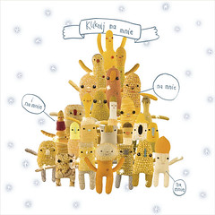 click click (PannaJoanna) Tags: christmas yellow dolls handmade craft