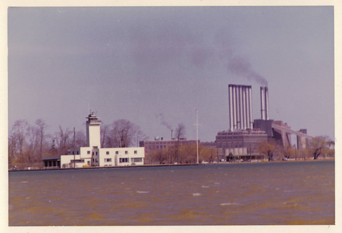 Conner Creek Edison Plant (Seven Sisters), early 1970s