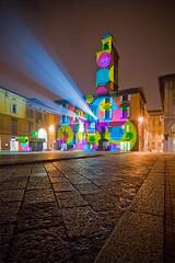 """""""veniamo... in... pace..."""" [""""we... come... in peace...""""] :) (ecatoncheires) Tags: light colors interestingness bubbles spot explore bubble colori luce bolla faretto bolle explored ecatoncheires"""
