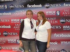 Caitlin Patenaude '11 (l) and Lauren Weybrew '08 (r)
